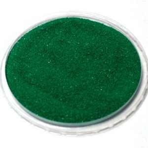 зеленый песок