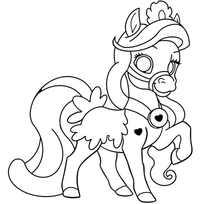 лошадка принцесса
