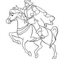 принц на коне