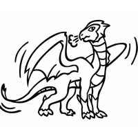 дракон простой
