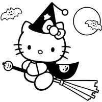 кошка хеллоиун