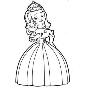 Принцесса с котом