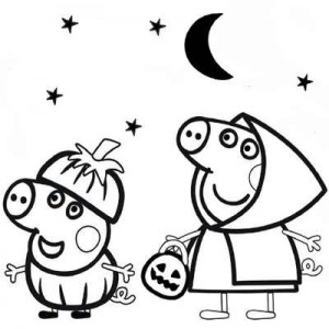 Свинки хэллоуин