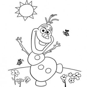 смешной снеговик
