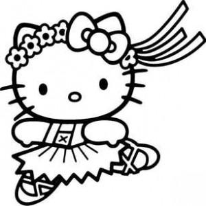 Кошечка балерина