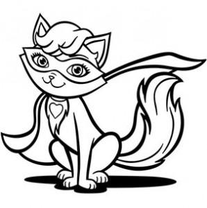 Супер кошка