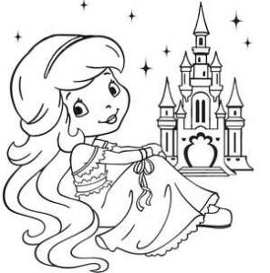 принцесса и замок
