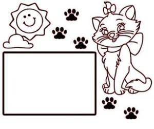 фоторамка котик 1