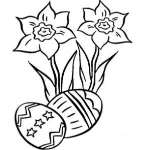 Цветы и крашенки