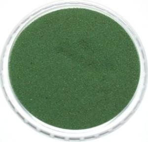 грязно зеленый