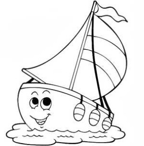 Веселый кораблик