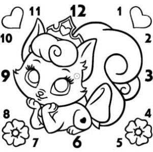 часы белочка