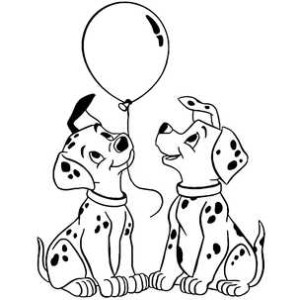 щенки с шаром