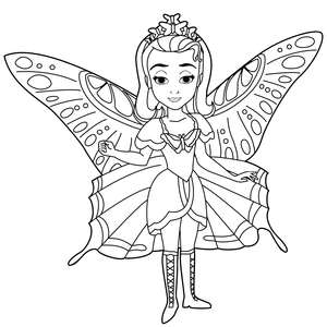Бабочка принцесса