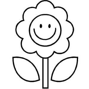 смешной цветок