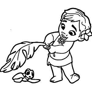 девочка с черепашкой