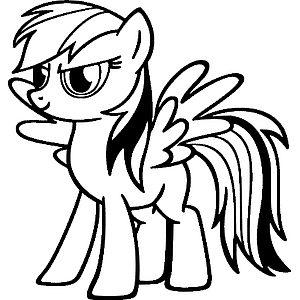 Крылатая пони