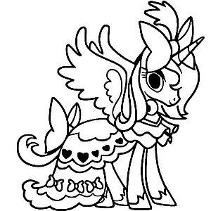 Нарядная пони