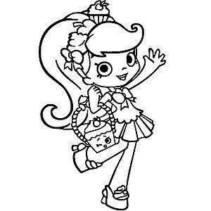 Девочка с кексом