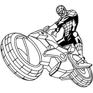 Герой на мотоцикле