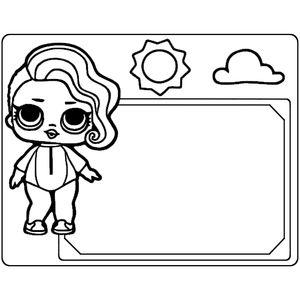 фоторамка кукла 5