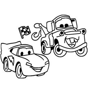 тачка и грузовик