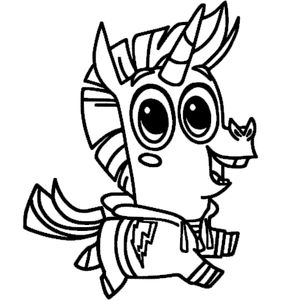 ослик единорог