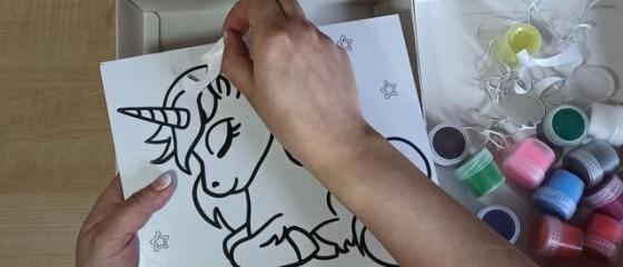снимем бумагу с рисунка