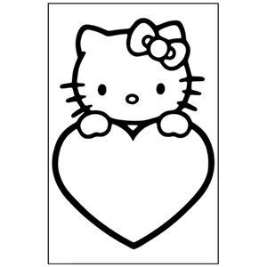 котик с сердцем