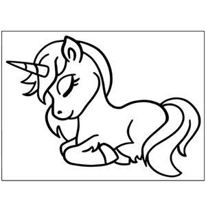 спящее пони