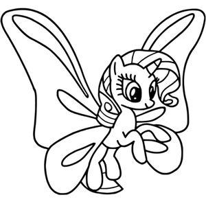 пони бабочка