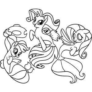 русалки пони