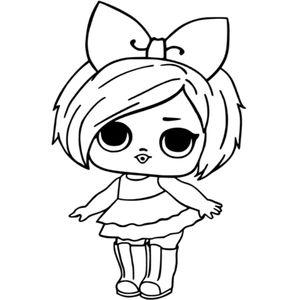 кукла с бантом