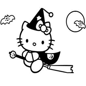 кошка хеллоуин
